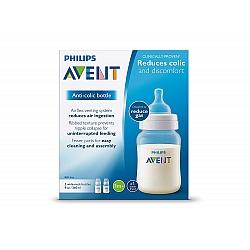 """אוונט בקבוק לתינוק ללא טבעת 260 מ""""ל ליחידה (1 חודש+) 2 יחידות - מבית Philips Avent"""