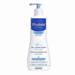 """מוסטלה ג'ל רחצה לגוף ולשיער לתינוקות 500 מ""""ל - מבית Mustela"""