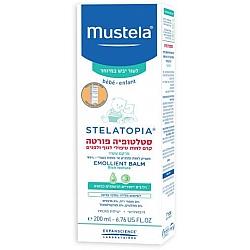 """מוסטלה סטלטופיה פורטה קרם לחות טיפולי לגוף ולפנים לעור יבש במיוחד 200 מ""""ל - מבית Mustela"""
