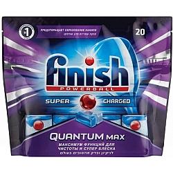פיניש טבליות קוואנטום למדיח כלים 20 יחידות - מבית FINISH
