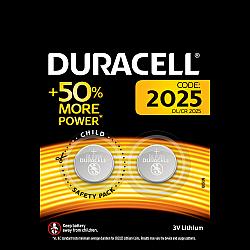 דורסל סוללות ליתיום 2025 אריזת 2 יחידות - מבית Duracell