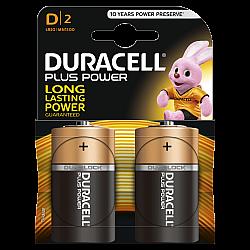 דורסל PLUS POWER סוללות D אריזת 2 יחידות - מבית Duracell