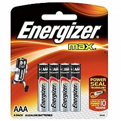 אנרג'ייזר סוללות מקס AA - אריזה 4 יחידות - מבית Energizer
