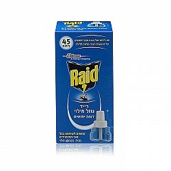 רייד דוחה יתושים נוזל מילוי אחד בקבוק - מבית RAID