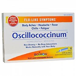 אוסילו - אוסילוקוקסינום Oscillococcinum - תכולה 6 מנות - מבית BIORON