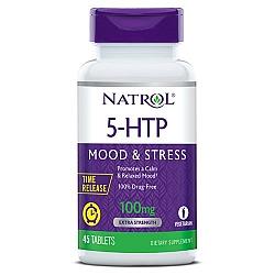 """5-HTP הידרוקסי-טריפטופאן 100 מ""""ג - 45 טבליות - מבית NATROL"""