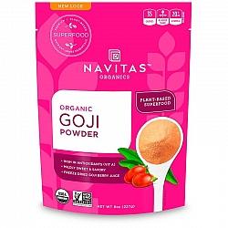 אבקת גוג'י ברי אורגני 227 גרם - מבית Navitas Organics