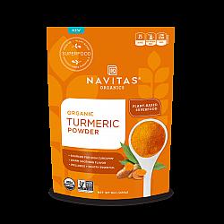 אבקת כורכום אורגני 227 גרם - מבית Navitas Organics