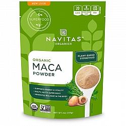 אבקת מאקה אורגני 113 גרם - מבית Navitas Organics