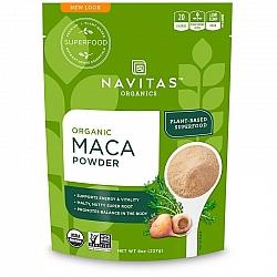 אבקת מאקה אורגני 227 גרם - מבית Navitas Organics