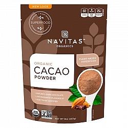 אבקת קקאו אורגני 227 גרם - מבית Navitas Organics