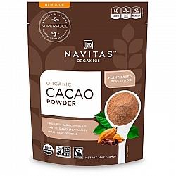 אבקת קקאו אורגני 454 גרם - מבית Navitas Organics