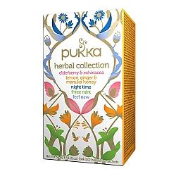 פוקה אוסף תה צמחים אורגני 20 שקיות תה צמחים - מבית Pukka Herbs