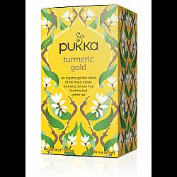 פוקה חליטות תה צמחים כורכום זהב 20 שקיקים - מבית Pukka Herbs