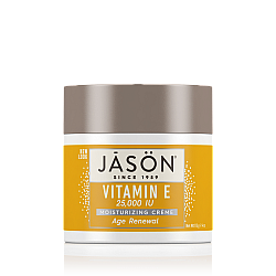 """ג'ייסון קרם לחות עם ויטמין E ריכוז 25000 יחב""""ל 113 גרם - מבית JASON"""