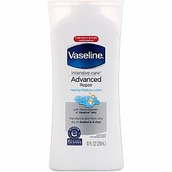 """וזלין תחליב מרוכז גוף לחות עד 5 ימים - ללא בושם - 295 מ""""ל - מבית VASELINE"""