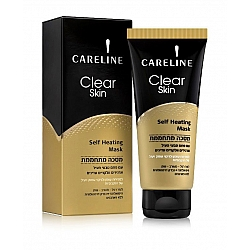 """קרליין מסכה לפנים מתחממת לעור רגיל עד מעורב או שמן 100 מ""""ל - מבית CARELINE"""