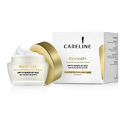 """קרליין + Revival קרם יום משקם SPF15 לעור בוגר 50 מ""""ל - מבית - CARELINE"""