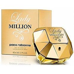"""בושם לאישה ליידי מיליון פאקו רבאן Lady Million אדפ 80 מ""""ל -  מבית Paco Rabanne"""