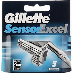ג'ילט סנסור אקסל סכיני גילוח רב פעמיים 5 סכינים - מבית Gillette