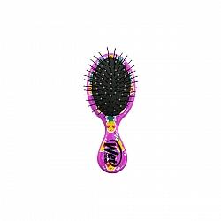 המברשת רטובה קטנה המופלאה להתרת קשרים מיני סדרה שיער שמח אננס צבע סגול - מבית Wet Brush