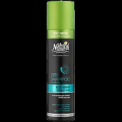 """נטורל פורמולה שמפו יבש לשיער דק או דליל 200 מ""""ל - מבית NATURAL FORMULA"""