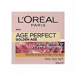 """לוריאל גולדן אייג' קרם לחות יום למראה עור זוהר 50 מ""""ל - מבית L'OREAL PARIS"""