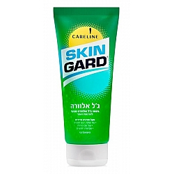 """סקין גארד ג'ל אלוורה טבעי להרגעת העור 200 מ""""ל - מבית SKIN GARD"""