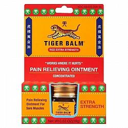 טייגר באלם אדום משחה להקלה זמנית של כאבי שרירים 18 גרם - מבית Tiger Balm