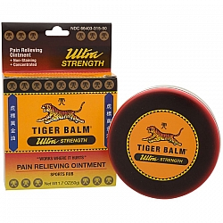 טייגר באלם חזק מיוחד משחה להקלה זמנית של כאבי שרירים 50 גרם - מבית Tiger Balm