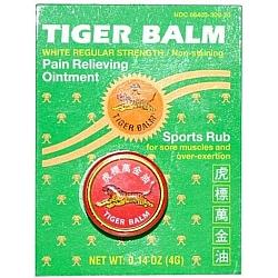 טייגר באלם כוכב אדום להקלה זמנית של כאבי שרירים - כאבי ראש - 4 גרם - מבית Tiger Balm