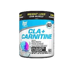 שורפי שומן ל-קרניטין + CLA  בי פי אי 300 גרם - טעם ברד פירות - מבית BPI Sport