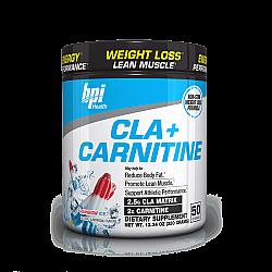 שורפי שומן ל-קרניטין + CLA  בי פי אי 320 גרם - טעם ארטיק - מבית BPI Sport