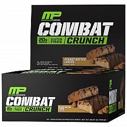חטיף חלבון מאסל פארם קומבט בטעם חמאת בוטנים 63 גרם - 12 יחידות - מבית MusclePharm