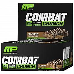 חטיף חלבון מאסל פארם קומבט בטעם ס'מור 63 גרם - 12 יחידות - מבית MusclePharm