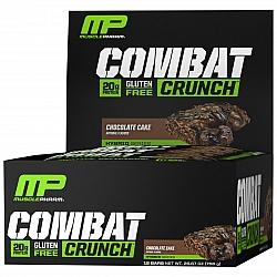 חטיף חלבון מאסל פארם קומבט בטעם עוגת שוקולד 63 גרם - 12 יחידות - מבית MusclePharm