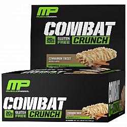 חטיף חלבון מאסל פארם קומבט בטעם קינמון 63 גרם - 12 יחידות - מבית MusclePharm
