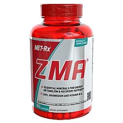 ZMA שילוב של מגנזיום, אבץ וB6 כמות 90 כמוסות - מבית MET-RX