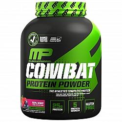 """אבקת תשלובת חלבון קומבט מאסלפארם Combat טעם טרי ברי 1.81 ק""""ג - מבית MusclePharm"""
