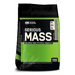 """אבקת גיינר אופטימום סיריוס מאס 5.5 ק""""ג  טעם וניל - מבית Optimum Nutrition"""