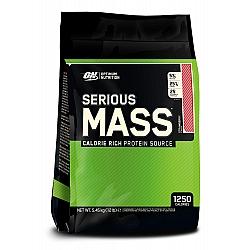 """אבקת גיינר אופטימום סיריוס מאס 5.5 ק""""ג  טעם תות - מבית Optimum Nutrition"""