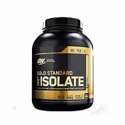 """אבקת חלבון איזולאט אופטימום גולד סטנדרט ISOLATE טעם וניל 1.32 ק""""ג - מבית Optimum Nutrition"""