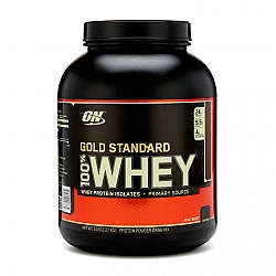 """אבקת חלבון מי גבינה Whey אופטימום גולד סטנדרט טעם שוקולד מאלט 2.27 ק""""ג - מבית Optimum Nutrition"""