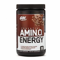 אמינו אנרג'י אבקת חומצות אמינו ממריץ טעם מוקה קפוצ'ינו 300 גרם - מבית Optimum Nutrition