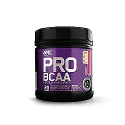 BCAA  עם גלוטמין אופטימום פרו סירייס טעם לימונדה פטל 390 גרם - מבית Optimum Nutrition