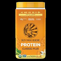 סאן ווריור חלבון טבעוני פלוס וניל 750 גרם - מבית Sunwarrior