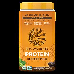 סאן ווריור חלבון טבעוני פלוס שוקולד 750 גרם - מבית Sunwarrior