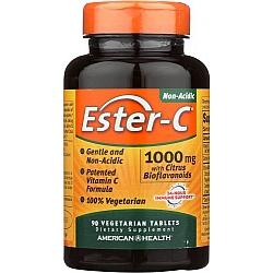 """אסטר סי ויטמין C לא חומצי 1000 מ""""ג 90 טבליות - מבית Ester-C"""