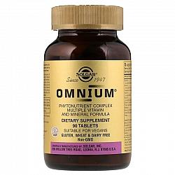 אומניום מולטי ויטמין-מינרל סולגאר - 90 טבליות - מבית SOLGAR