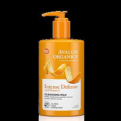 """חלב פנים מועשר ויטמין C אבלון אורגניקס 251 מ""""ל - מבית Avalon Organics"""